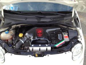 abarth airbox aspirazione intake carbonio 01