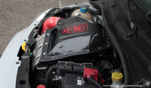 abarth intake 500  airbox carbon